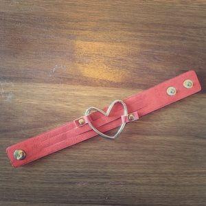 Paparazzi heart snap bracelet